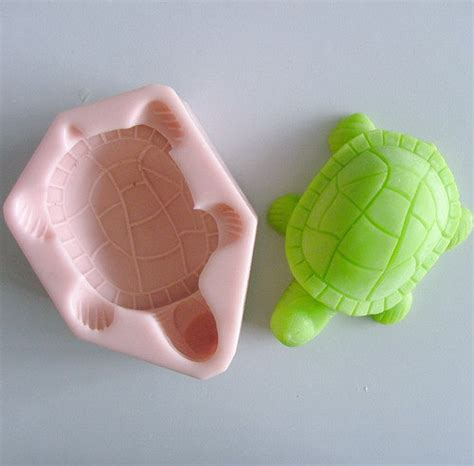 Handmade Soap Mold - tortoise soap mold silicone mould for handmade soap