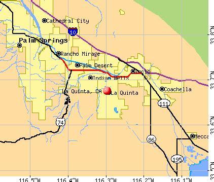 map of la quinta california la quinta california ca 92253 profile population maps