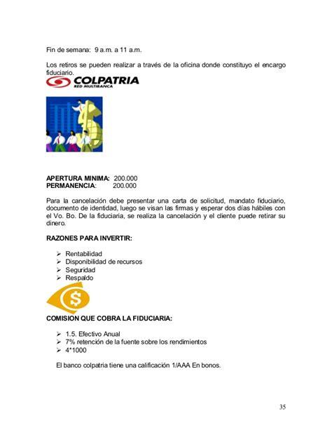 como solicitar una certificacion en bancolombia tesis colpatria 2007