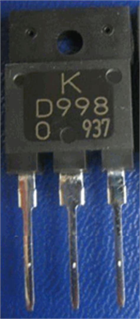 transistor d998 datasheet d998 datasheet vcbo 120v npn transistor kec