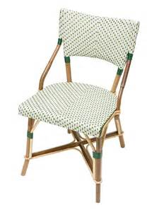 Woven Bistro Chairs High Market Rattan Bistro Chair