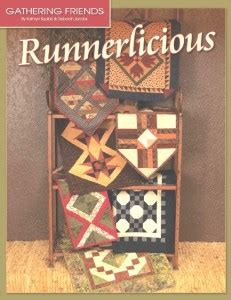 runnerlicious gathering friends quilt shop