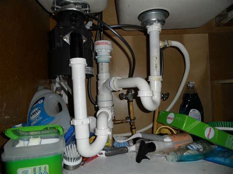 Dual Sink Garbage Disposal Plumbing by Faucets And Disposal City Wide Services
