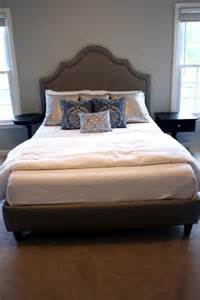 Diy Platform Bed With Headboard Diy Tutorial Diy Headboard Diy Upholstered Platform Bed