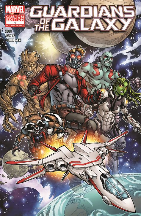 The Book Of The Guardian marvel s new guardians of the galaxy comic created for