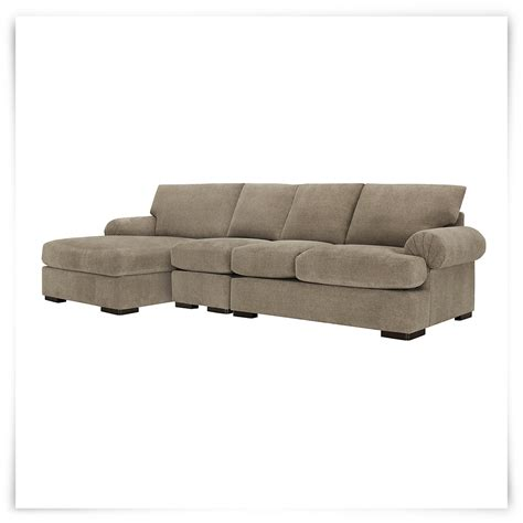 small microfiber sectional city furniture belair dk taupe microfiber small left