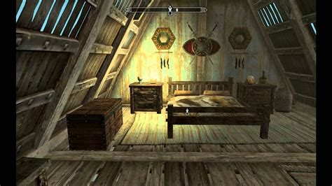 skyrim adding bedroom to house before after youtube