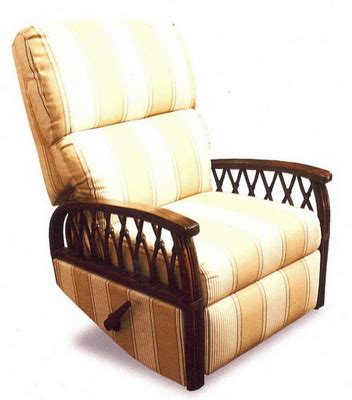 Rattan Recliners by Wicker Recliners Swivel Rocking Chairs
