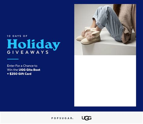 Ugg Sweepstakes - ugg giveaway popsugar fashion