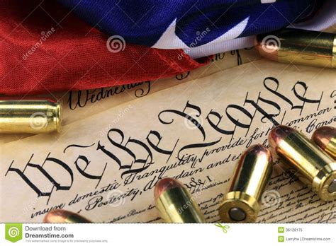 ammunition and flag on us constitution history of the