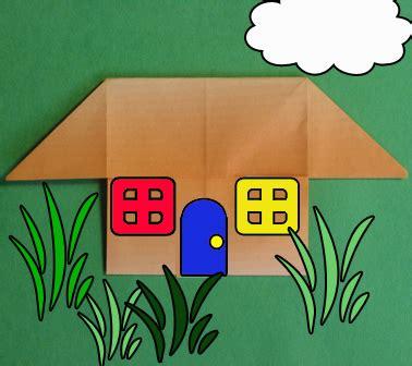 House Origami - house origami how to origami a house easy origami