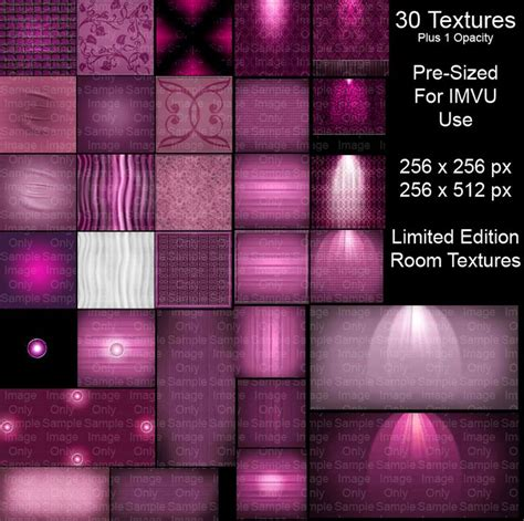 imvu room picture size pink imvu room textures ltd ed this is a limited