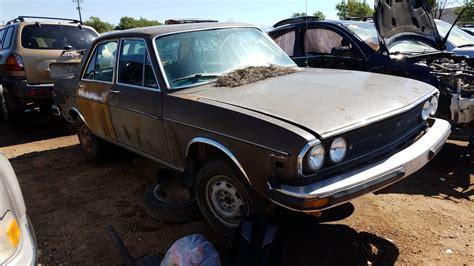 audi junkyard junkyard find 1976 audi 100 ls sedan