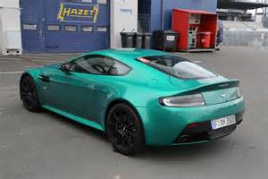 Green Aston Martin Wow V12 Vantage S In Viridian Green 187 Aston Martin