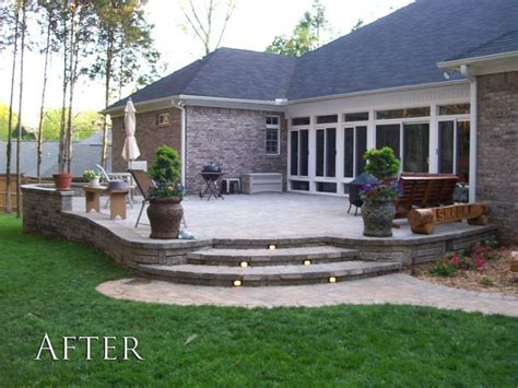 Great Elevated Patio Deck Porch Patio Pinterest Raised Paver Patio Designs