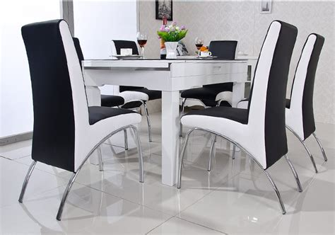 Modern Dining Table And Chairs Sale Aliexpress Com Buy Modern Dining Pu Leather V Shaped Style Dinning Room Dining