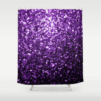 purple sequin shower curtain shop sparkle shower curtain on wanelo