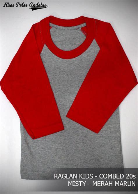 Size 0 Kaos Polos Anak Cotton Combed 20s kaos polos anak cocok untuk sablon grosir kaos polos