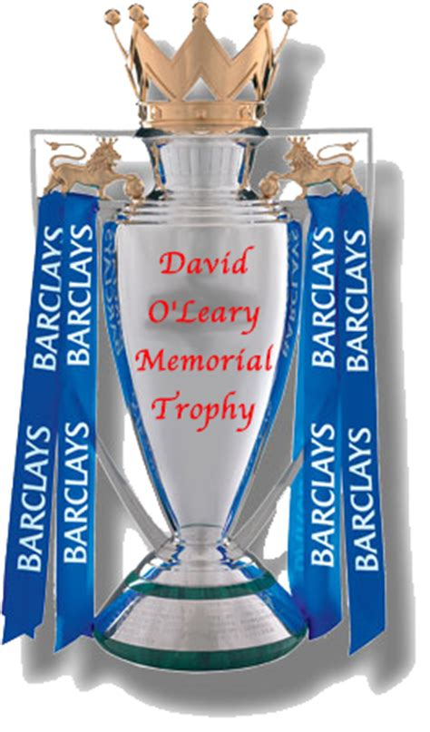 league trophy table the definitive list of premier league winners by calendar