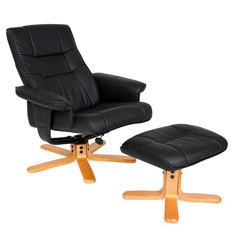 armchair and stool tv armchair recliner relax swivel chair lounge with foot