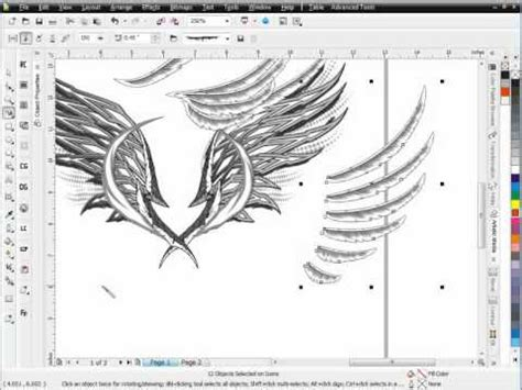 The Secret Of Coreldraw Madcoms secrets of brushes corel draw tutoriald session 3