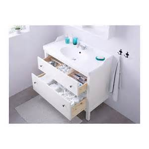 Ikea Vanity Hemnes Hemnes R 196 Ttviken Wash Stand With 2 Drawers White 100x49x89