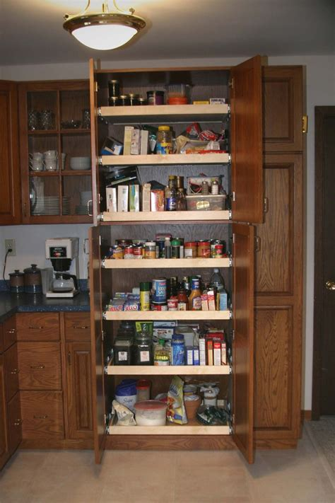 24 Inch Kitchen Pantry Cabinet Kitchen Cabinets Pull Out Pantry Pantry This Pantry Is 32 Wide And 24 Inches Ideas For