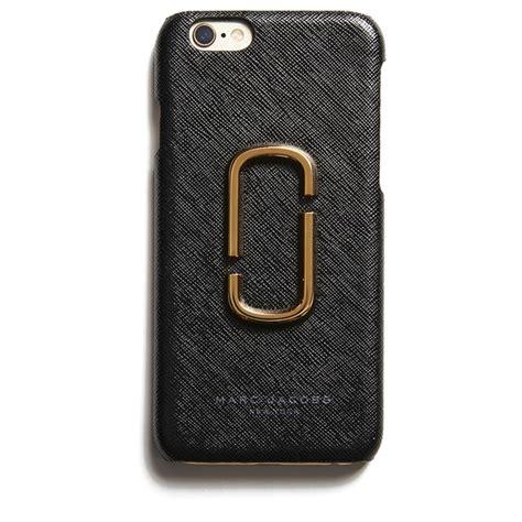 marc jacobs womens  marc iphone  case black
