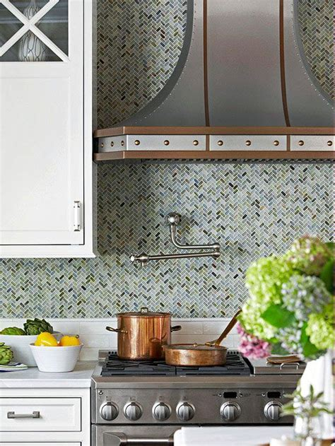 herringbone kitchen backsplash comfortable rustic kitchen herringbone glass tiles and