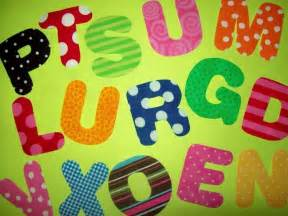 fabric applique template pattern only alphabet letters