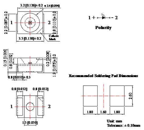ir diode wavelength smd 3528 infrared chip led 940nm infrared emitting diode radiant intensity 7 0mw sr