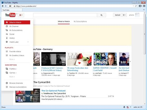 old youtube layout vs new youtube launches new centered layout does away with