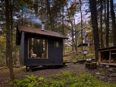 Shed Sauna by Sauna Rustic Shed New York By Material Design Build