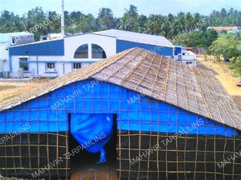 monsoon sheds cotton canvas tarpaulins chemical storage