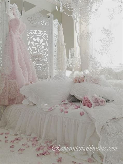 cottage home decor shabby chic bedroom lace and gorgeous