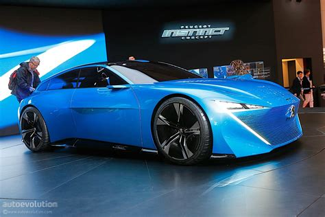 peugeot concept peugeot instinct concept shines in geneva with french