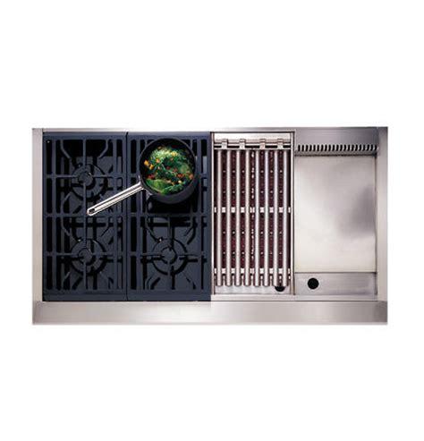 ge monogram cooktop parts zgu48l4gwss ge monogram 174 48 quot professional gas cooktop