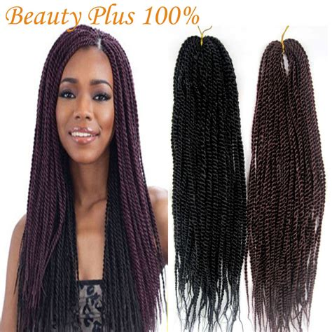 different types of crochet hair synthetic braiding hair senegalese braids 18 quot folded afro