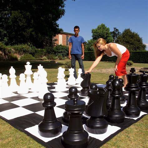giant chess set fancycom
