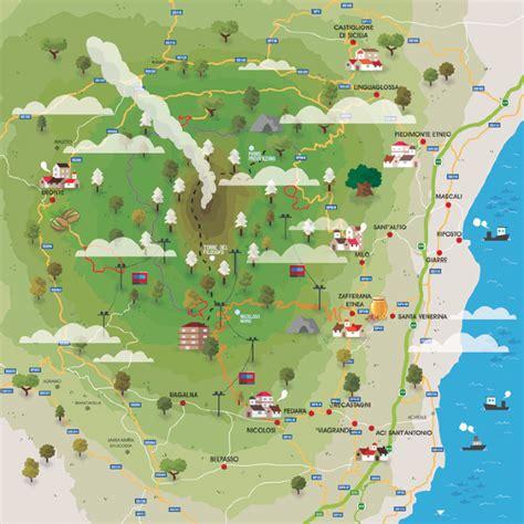 mappa parco dell etna crayon brain buddy bradley