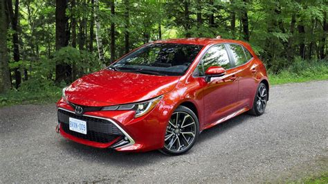 Toyota Hatchback 2019 by 2019 Toyota Corolla Hatchback Drive Review