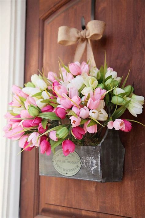 spring decorating ideas for your front door 25 best ideas about front door decor on pinterest front