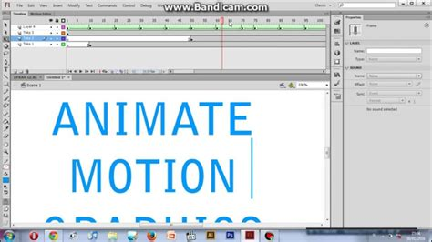 membuat video motion graphic tutorial adobe flash cs6 cara membuat animate motion