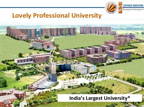 Lovely Professional Mba Distance by Lovely Professional Distance Education