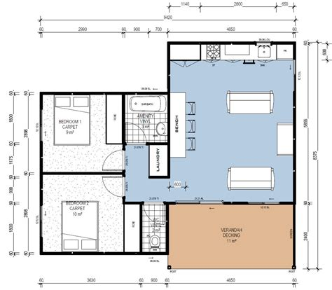 modular cottage floor plans ibuild lekofly modular homes l60 2 bedroom cabins