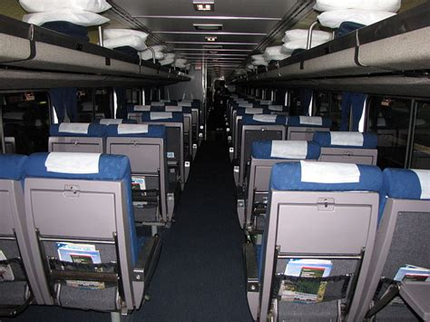 amtrak premium seat difference between amtrak coach and business class