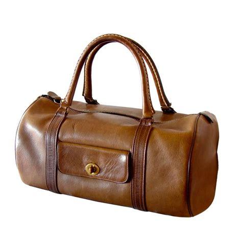 Safari Bags by Bonnie Cashin Coach Saddle Leather Safari Bag Duffel