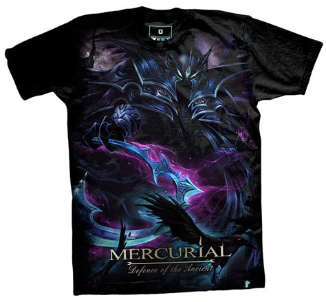 Dota T Shirt Black dota mercurial t shirts black defense of antients tees for