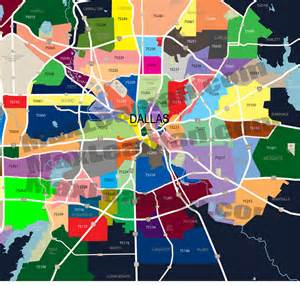 dallas zip codes map dallas zip code map zipcode map dallas dallas zipcode map