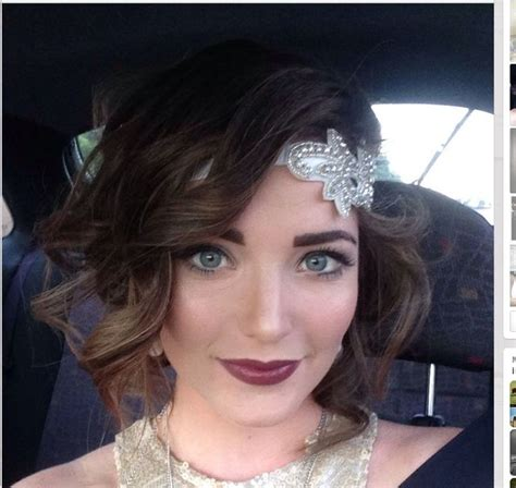 flapper hairstyles how to recreate them without the cut 22 best 1920s prom images on pinterest flapper dresses